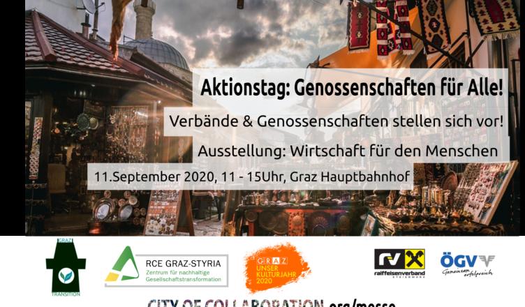 Aktionstag: Genossenschaften für Alle! und Die WoGen ist vor Ort