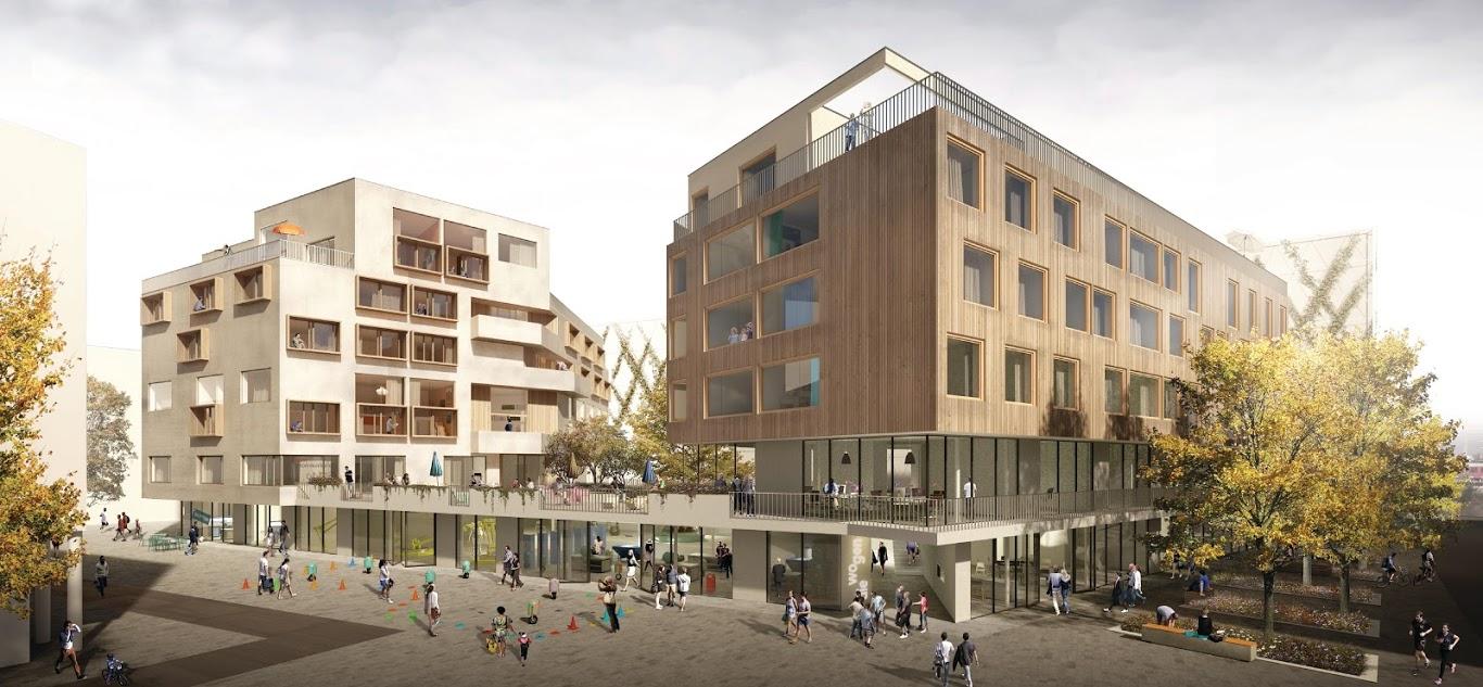 Bauträgerwettbewerb am Wiener Hbf gewonnen