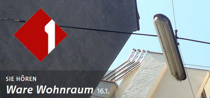 """Ö1 Interview """"Ware Wohnraum"""" 16. Jan 18"""