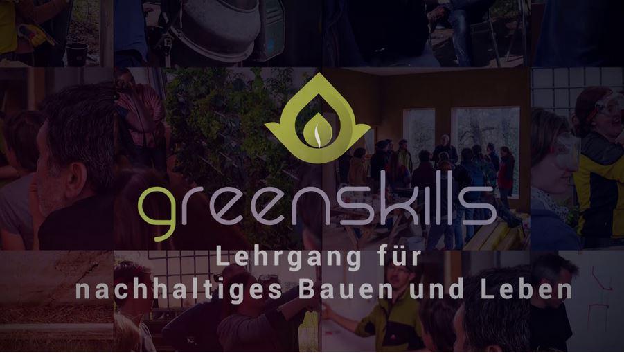 greenskills Lehrgang – Beginn am 8. März 18