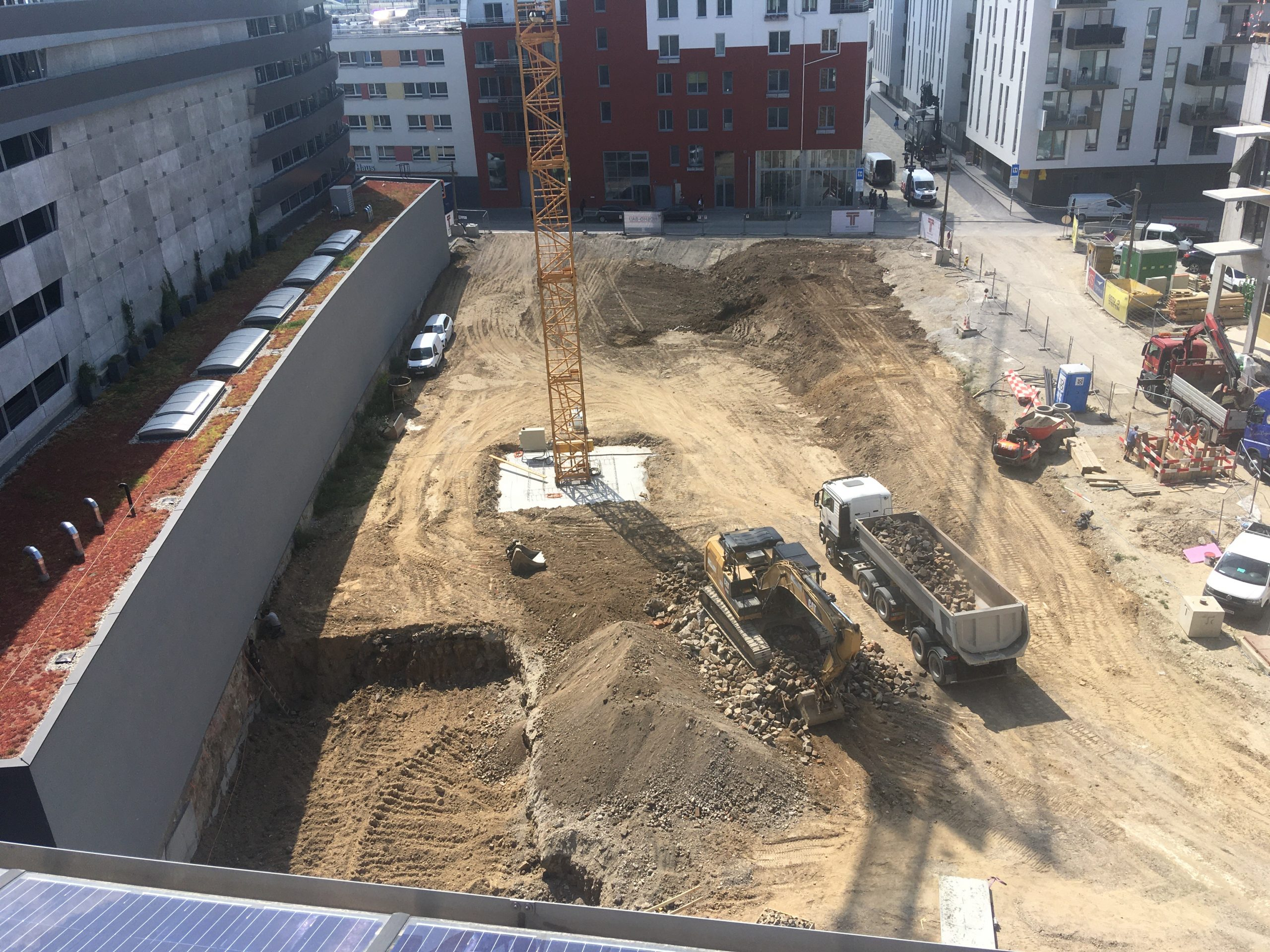 Baustelle WoGen Quartiershaus