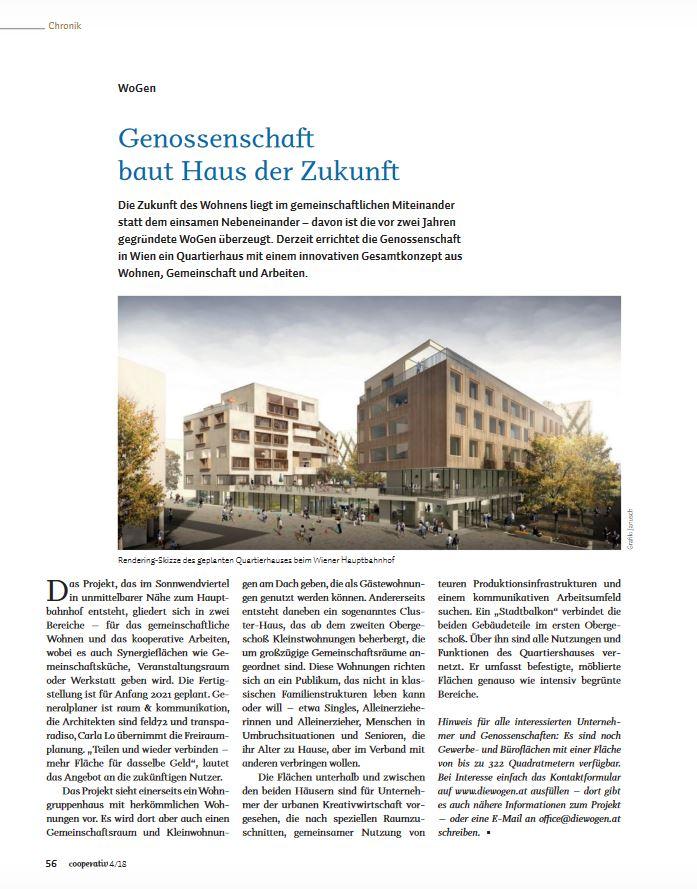 Genossenschaft baut Haus der Zukunft