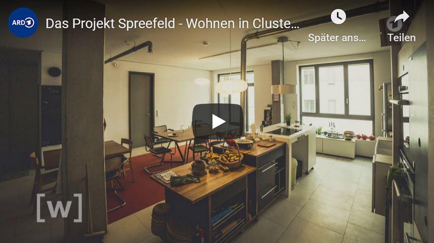"""""""W wie Wissen"""" präsentiert das Projekt Spreefeld – Wohnen in Clustern"""